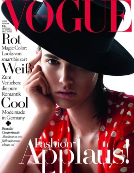 Valley Eyewear in VOGUE Germany 2/2015 , ENVOGUE Eyecatcher: Scapula Pearl Flake Tort,