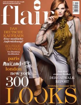 CLEMMIE WATSON - Flair Magazin Januar 2015