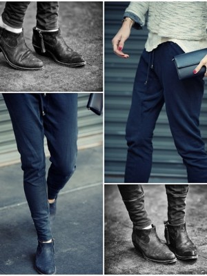 Ragdoll LA Skinny Long Johns @aninebing boots